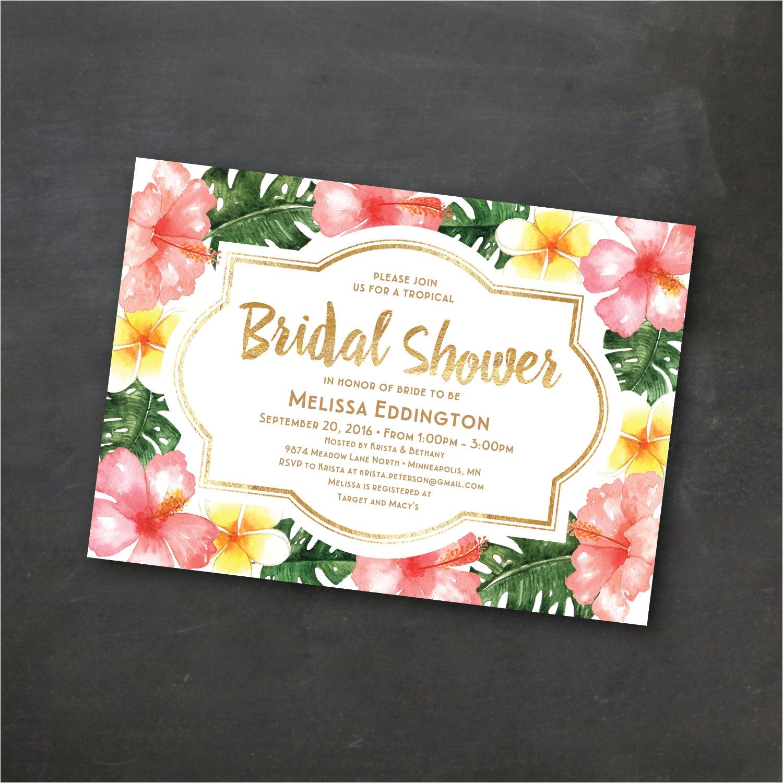 tropical printable bridal shower