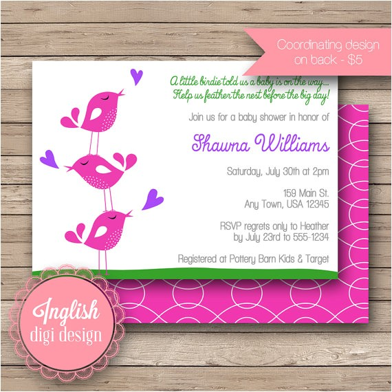 tweety bird baby shower invitations images tweety bird baby
