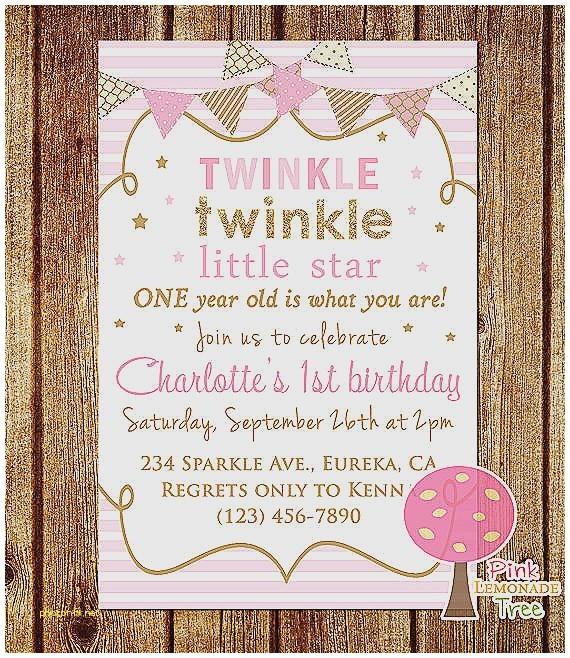 twinkle twinkle little star baby shower invitation wording