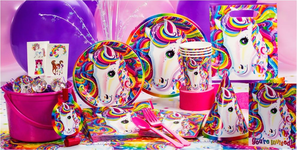 lisa frank rainbow horse party supplies do