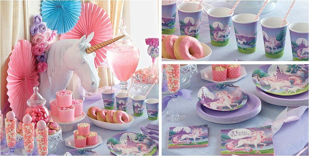 unicorn party supplies do