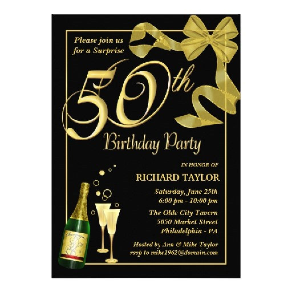 Unique 50th Birthday Invitation Ideas Unique Ideas for 50th Birthday Invitations Designs