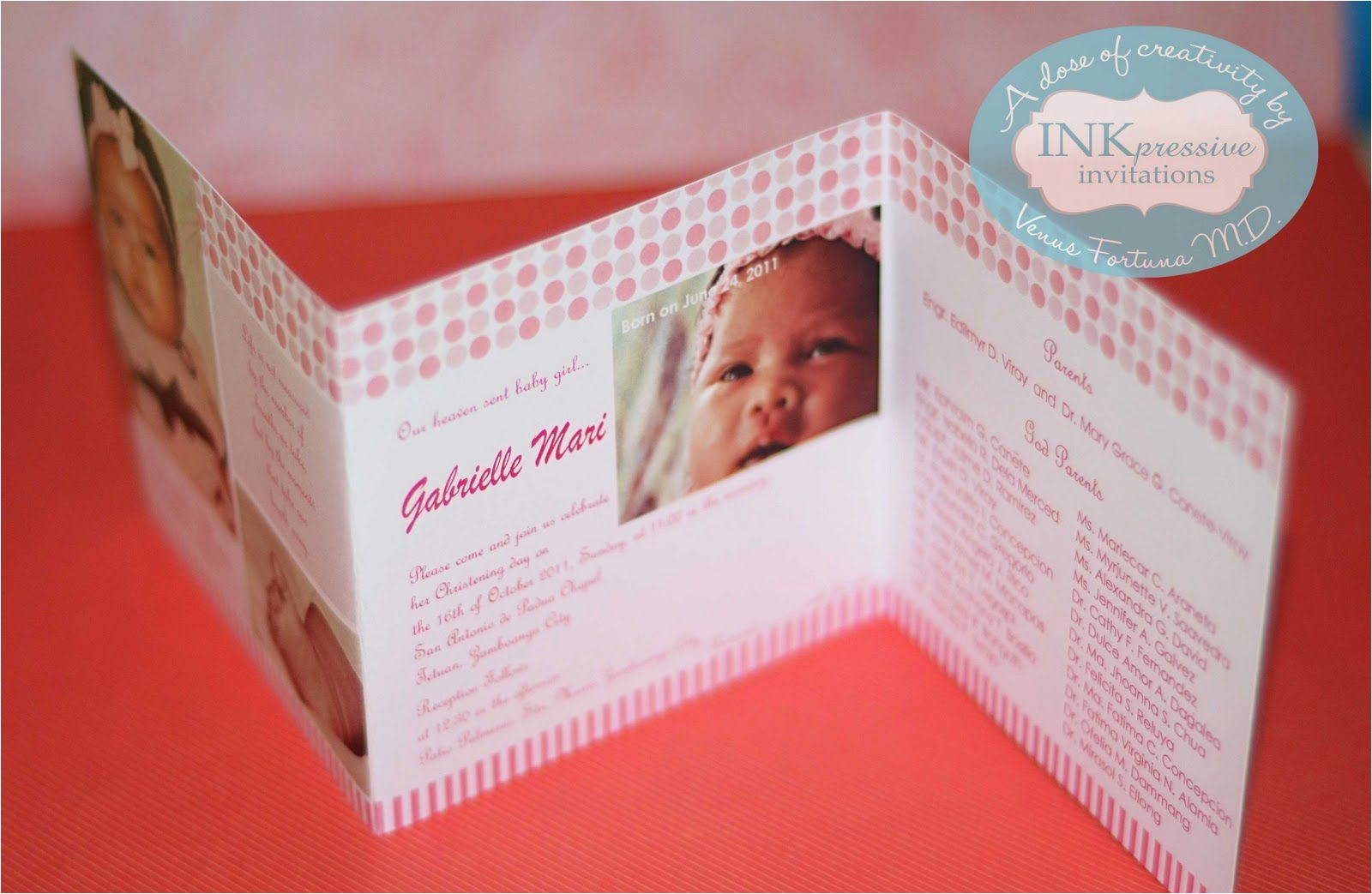 baptism invitations staples