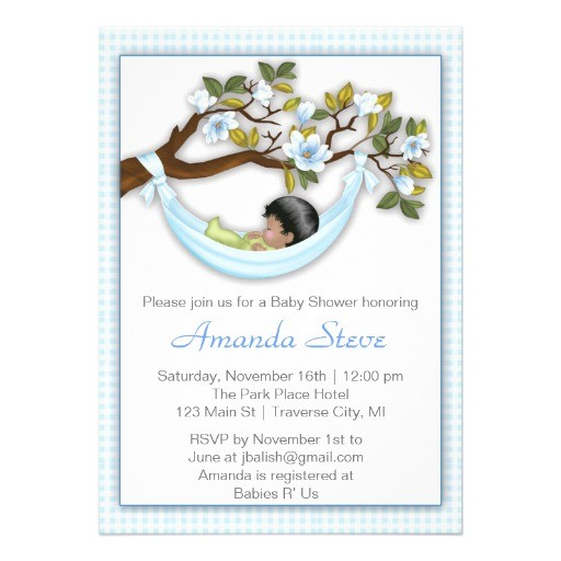 unique baby boy shower invitations