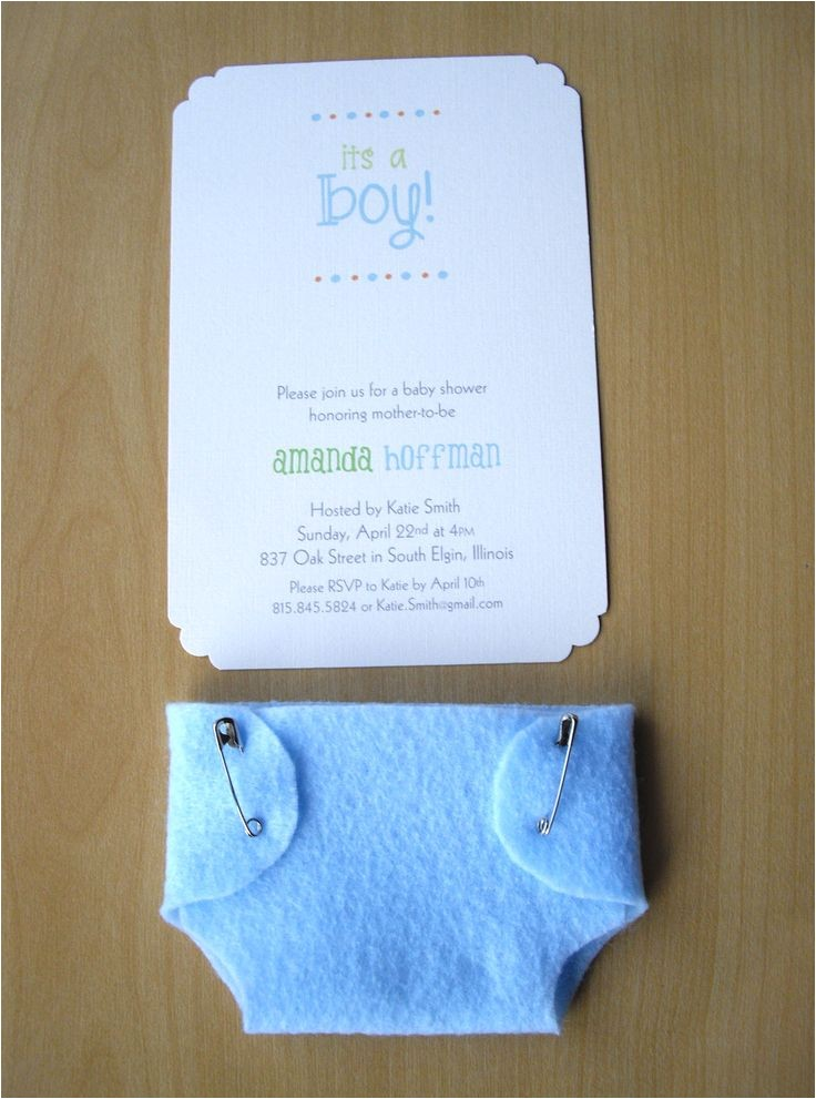 unique boy baby shower invitations 2