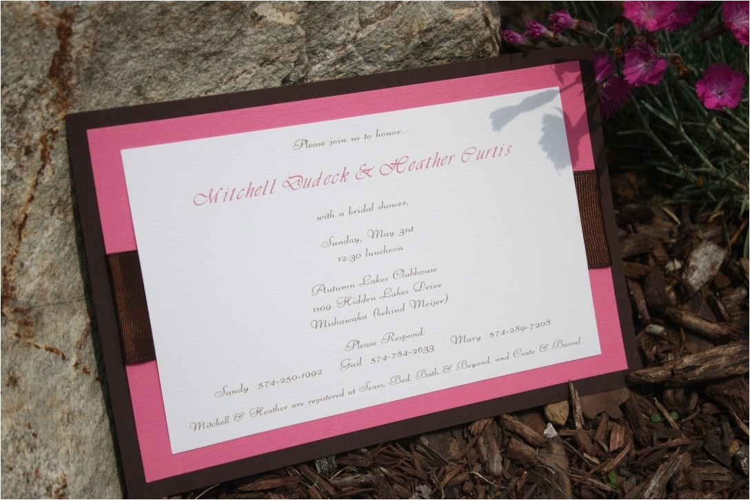 unique bridal shower invitations ideas