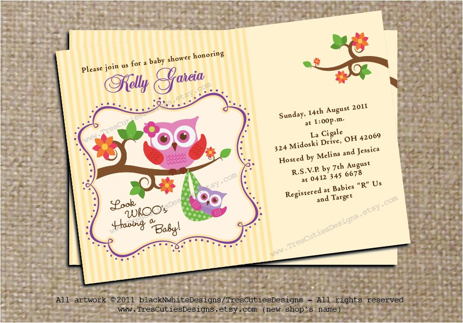neutral baby shower invitations template