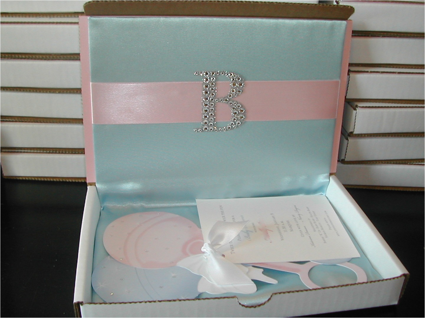 unique baby shower invitations for girls