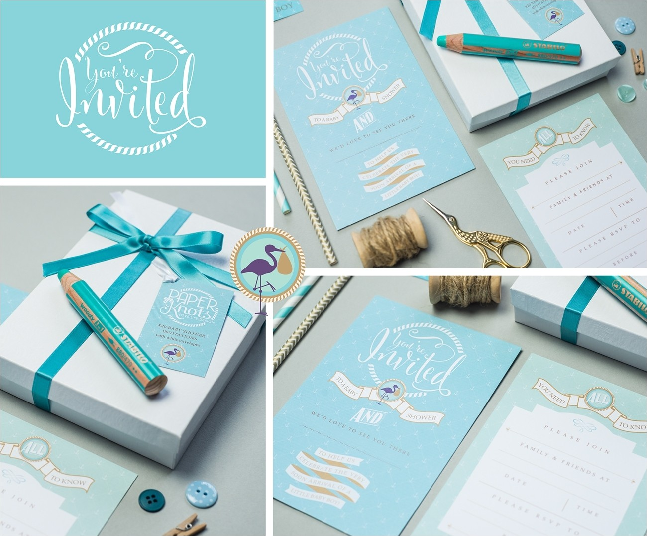 luxury baby shower invitations 050121827