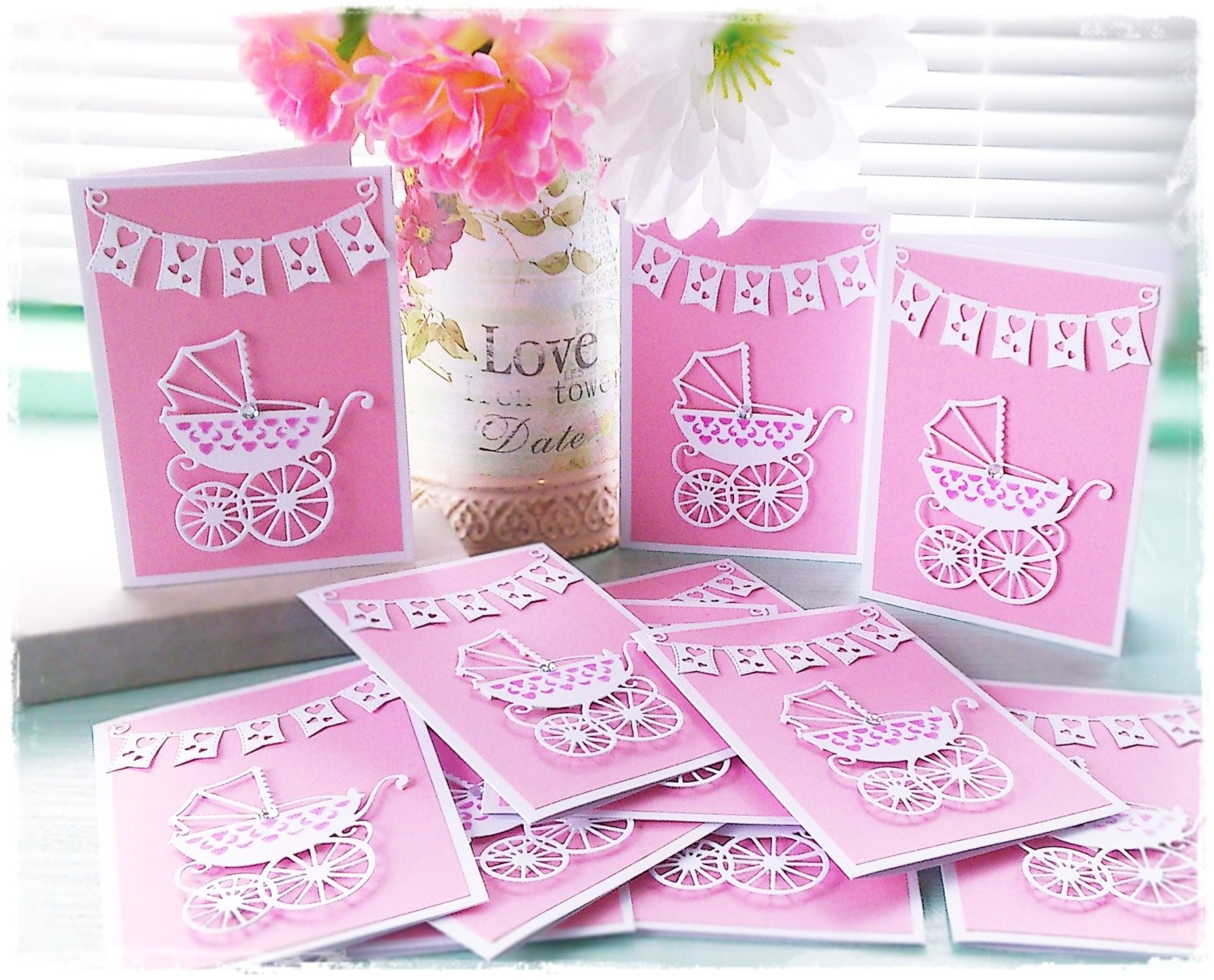 luxury baby shower invitations for a