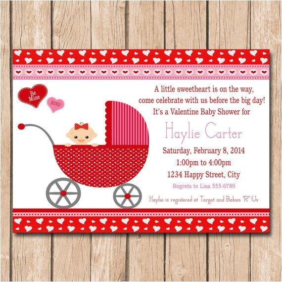 valentine baby shower