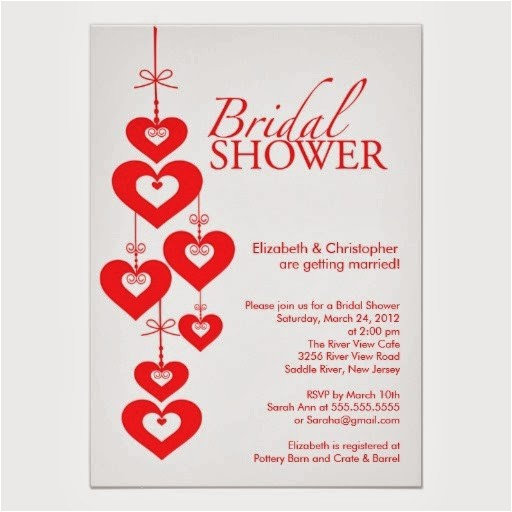 need valentine themed wedding shower