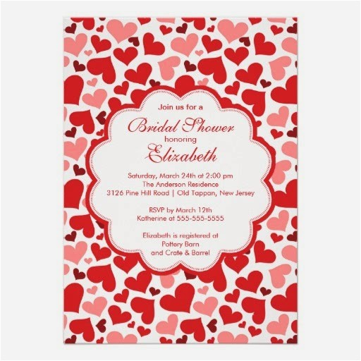 Valentine Bridal Shower Invitations Memorable Wedding Need Valentine themed Wedding Shower Ideas