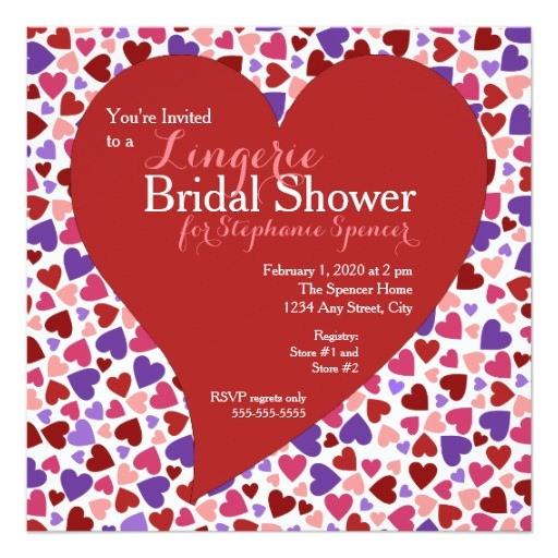 valentines day bridal shower invitation 256832857267237601