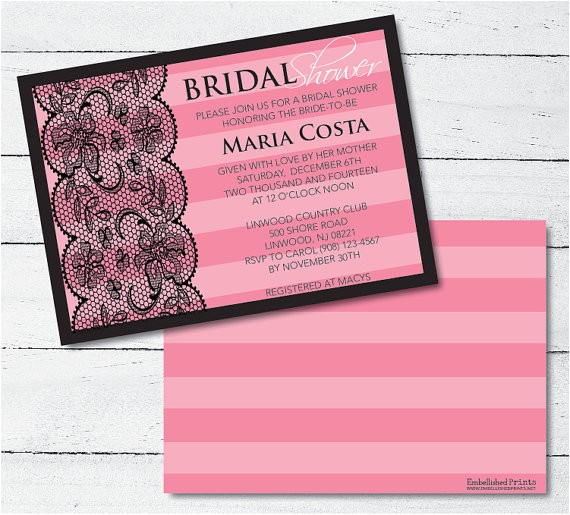 victoria secret themed bridal shower