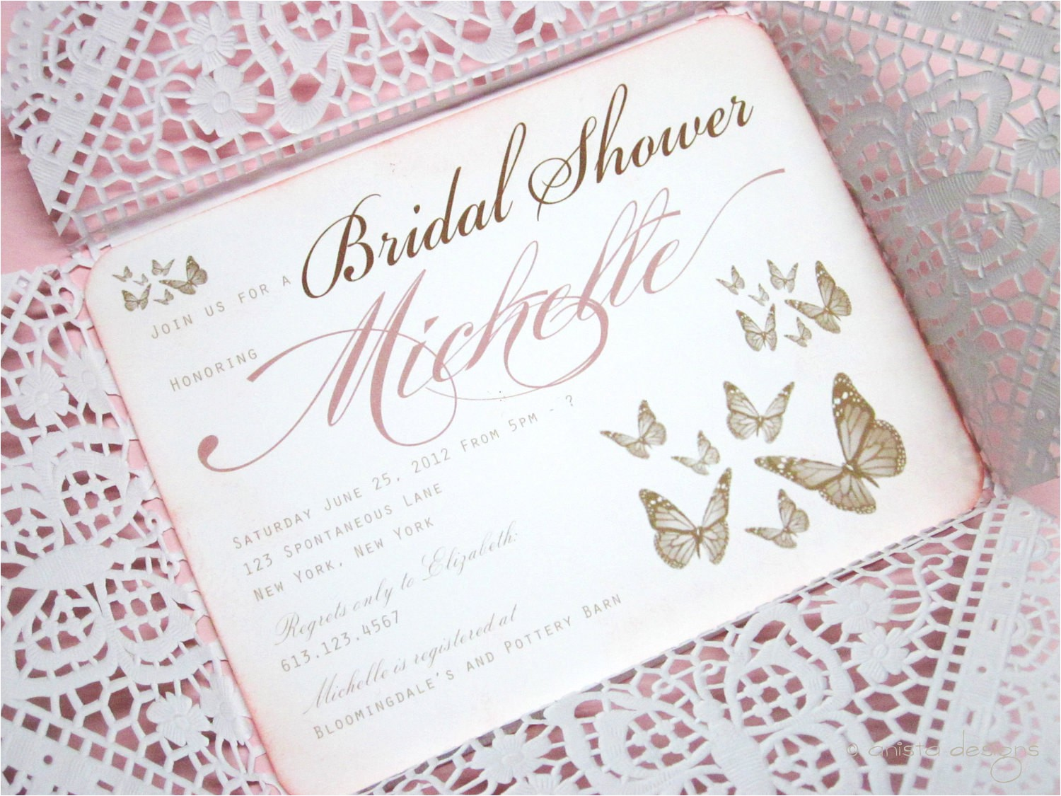 vintage bridal shower invitationsbaby