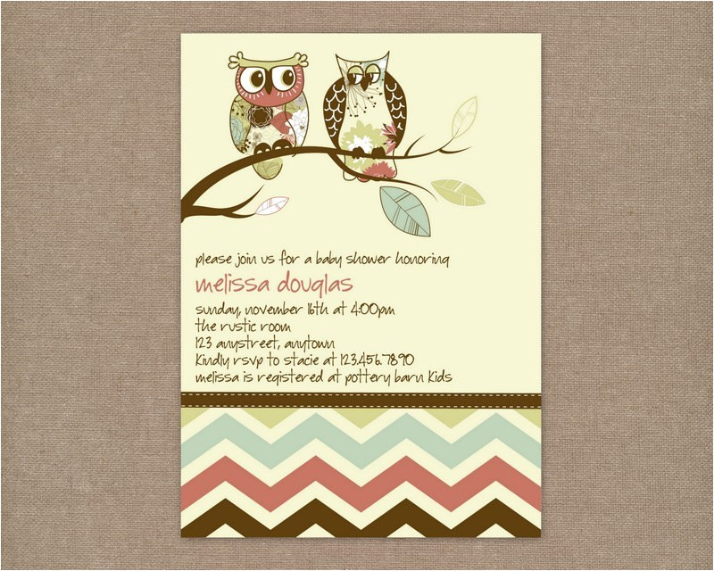 printable rustic vintage owl baby shower