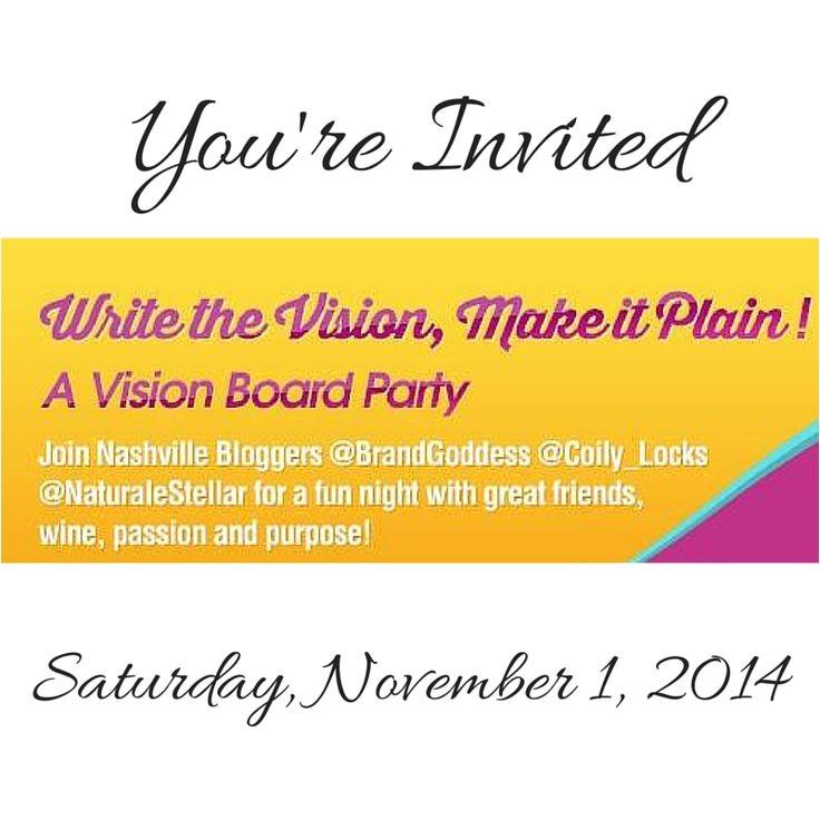 write the vision vision board ideas