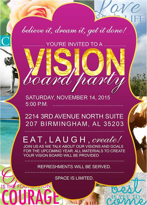 vision board party with adrienne nixon tickets