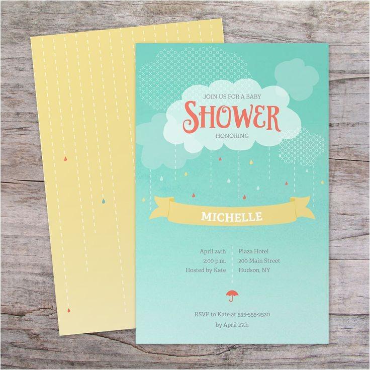 Vistaprint Baby Shower Invites Baby Shower Invitation Vistaprint