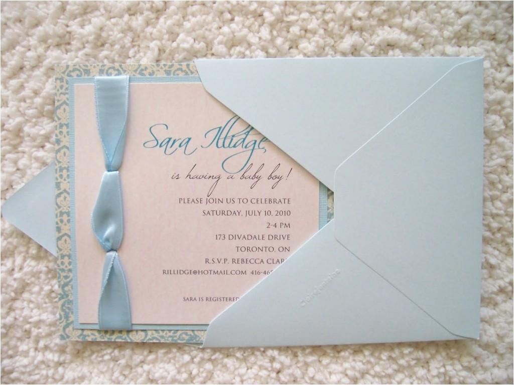 vistaprint shower invitations