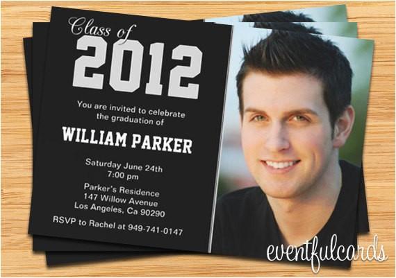 class high school college graduation invitation 5