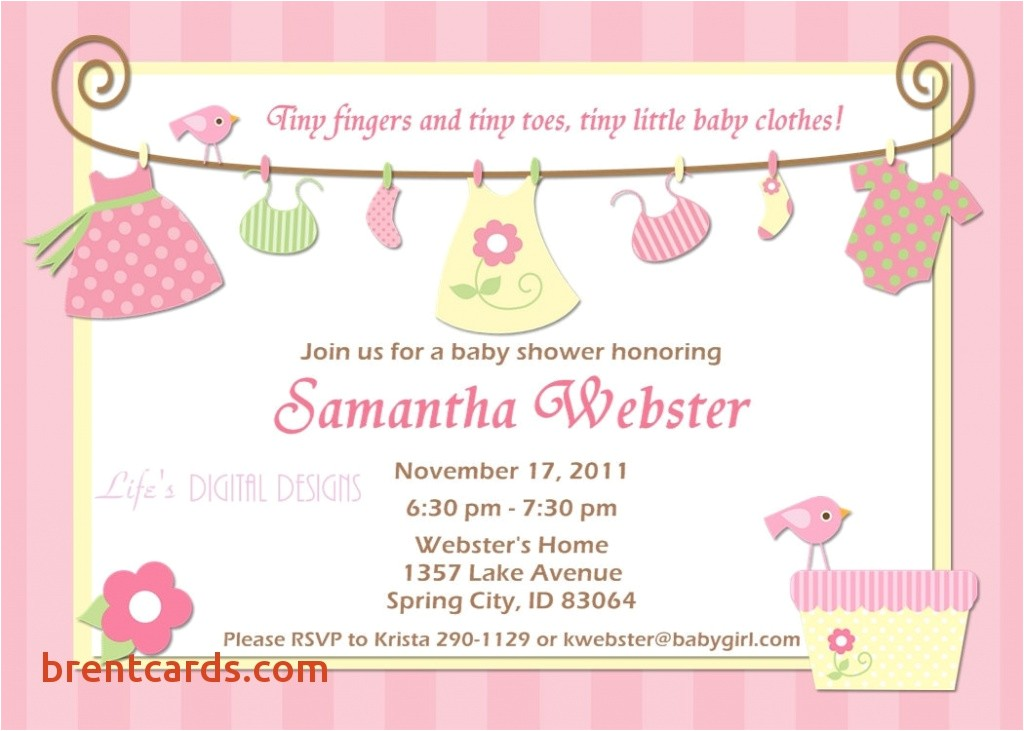 walmart invitations baby shower
