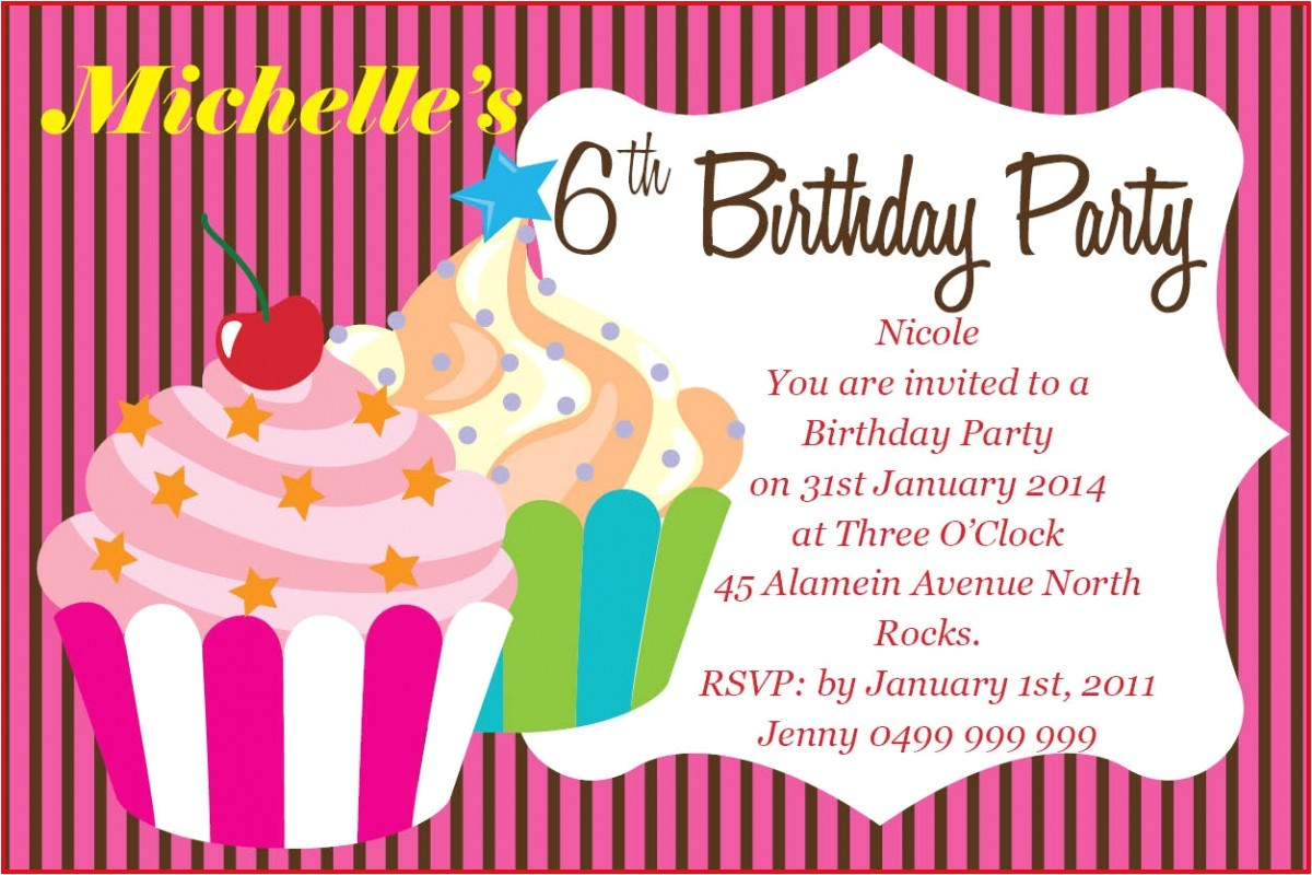 make your own birthday invitations online for free