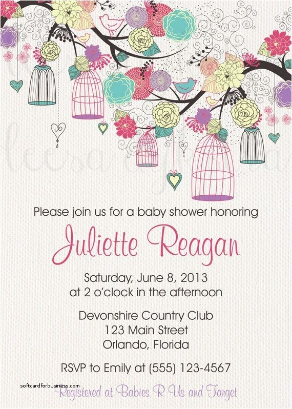 wedding and baby shower bined invitations