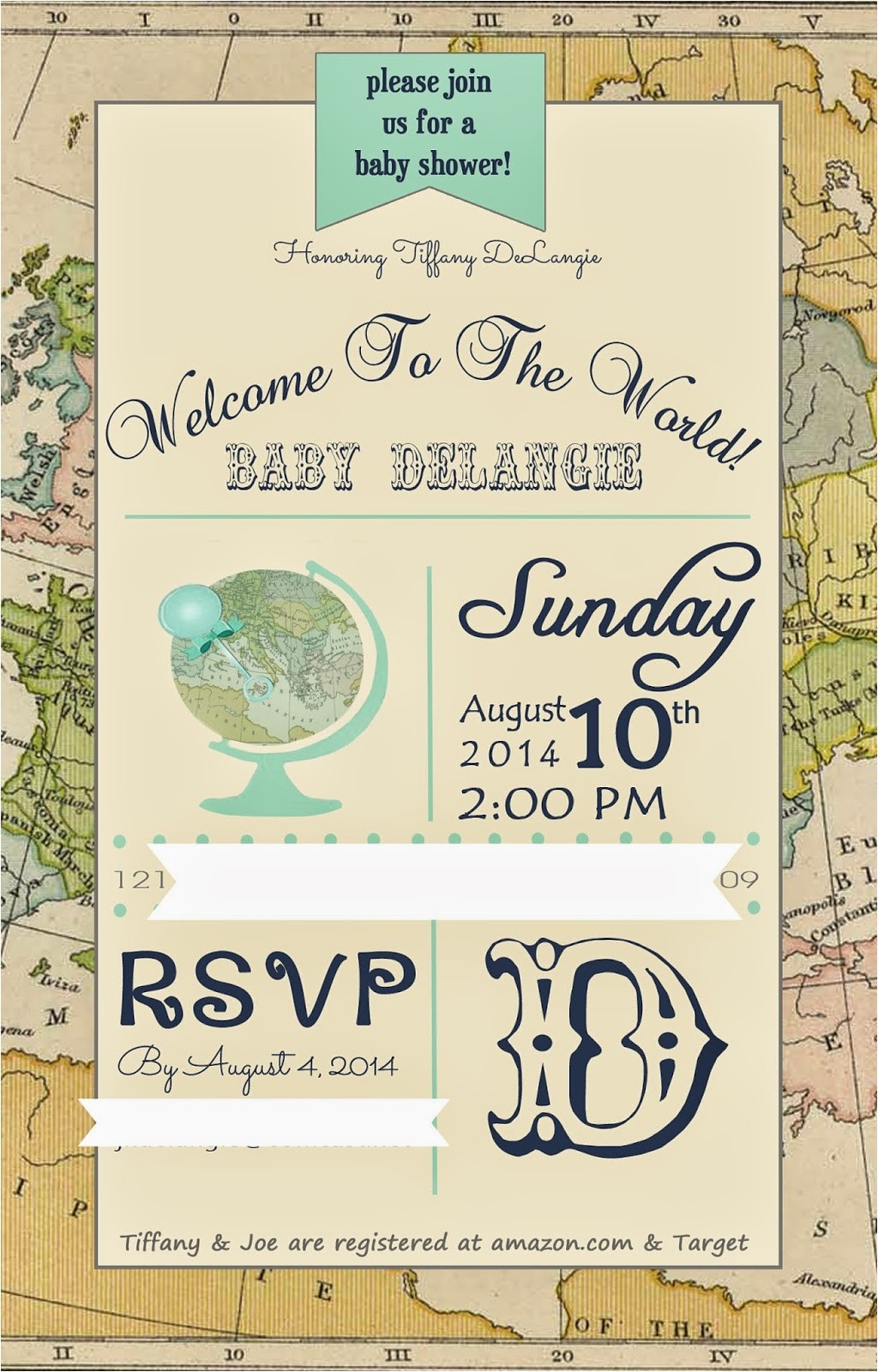 "Welcome to the World Baby Shower Invitations My ""wel E to the World"" Baby Shower Pretty Real"