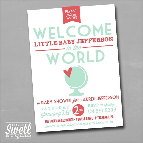 wel e to the world diy printable baby