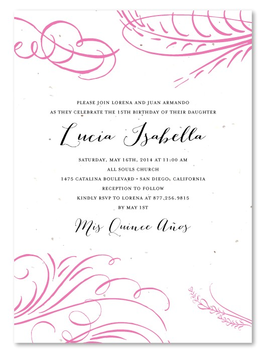 quinceanera invitation wording and your new quinceanera invitation template suitable for ideal invitation 21
