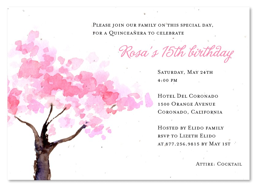 What to Write In A Quinceanera Invitation What to Write On Quinceanera Invitations Party