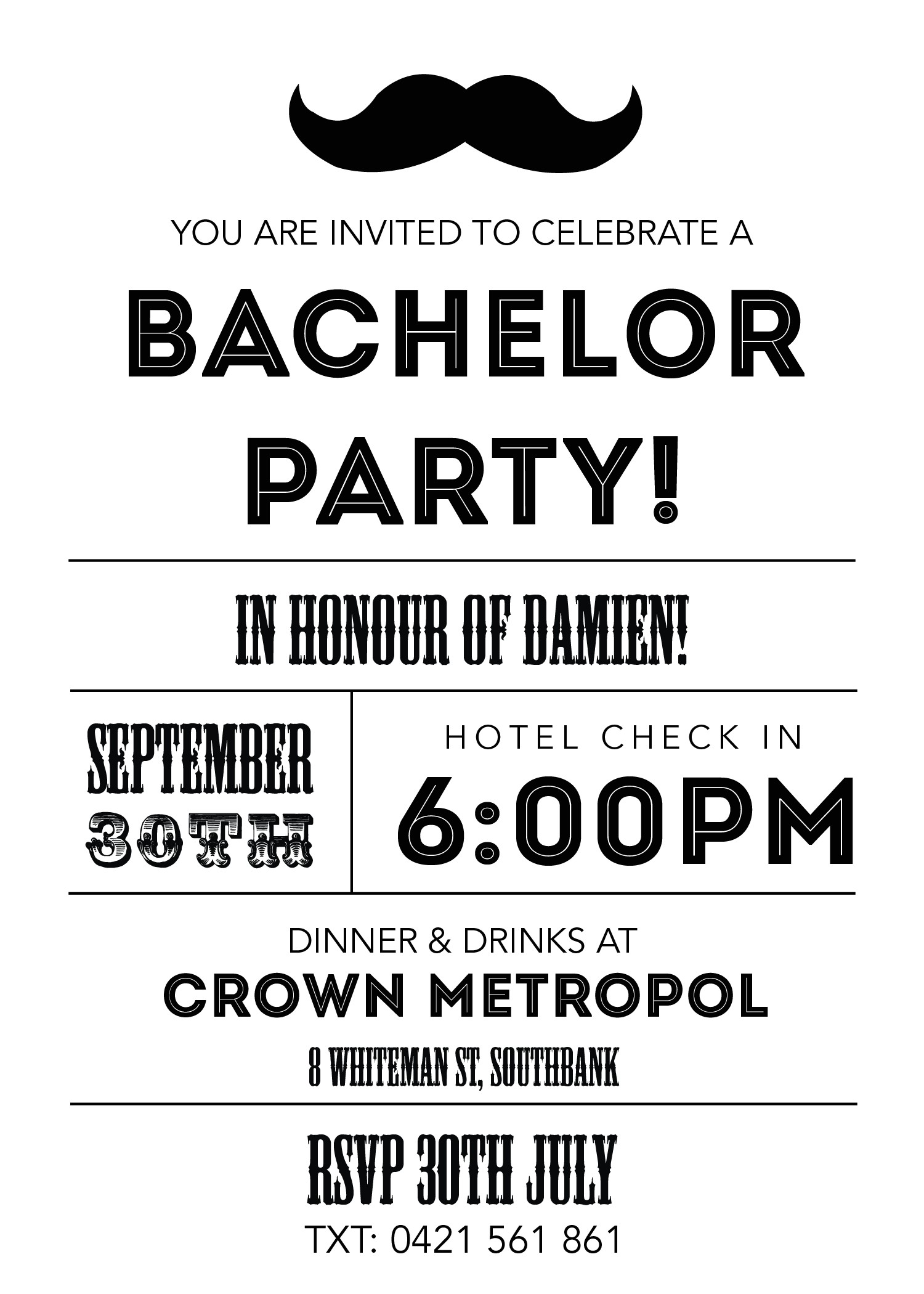 Who Gets Invited to Bachelor Party Bachelor Party Invitations Gangcraft Net