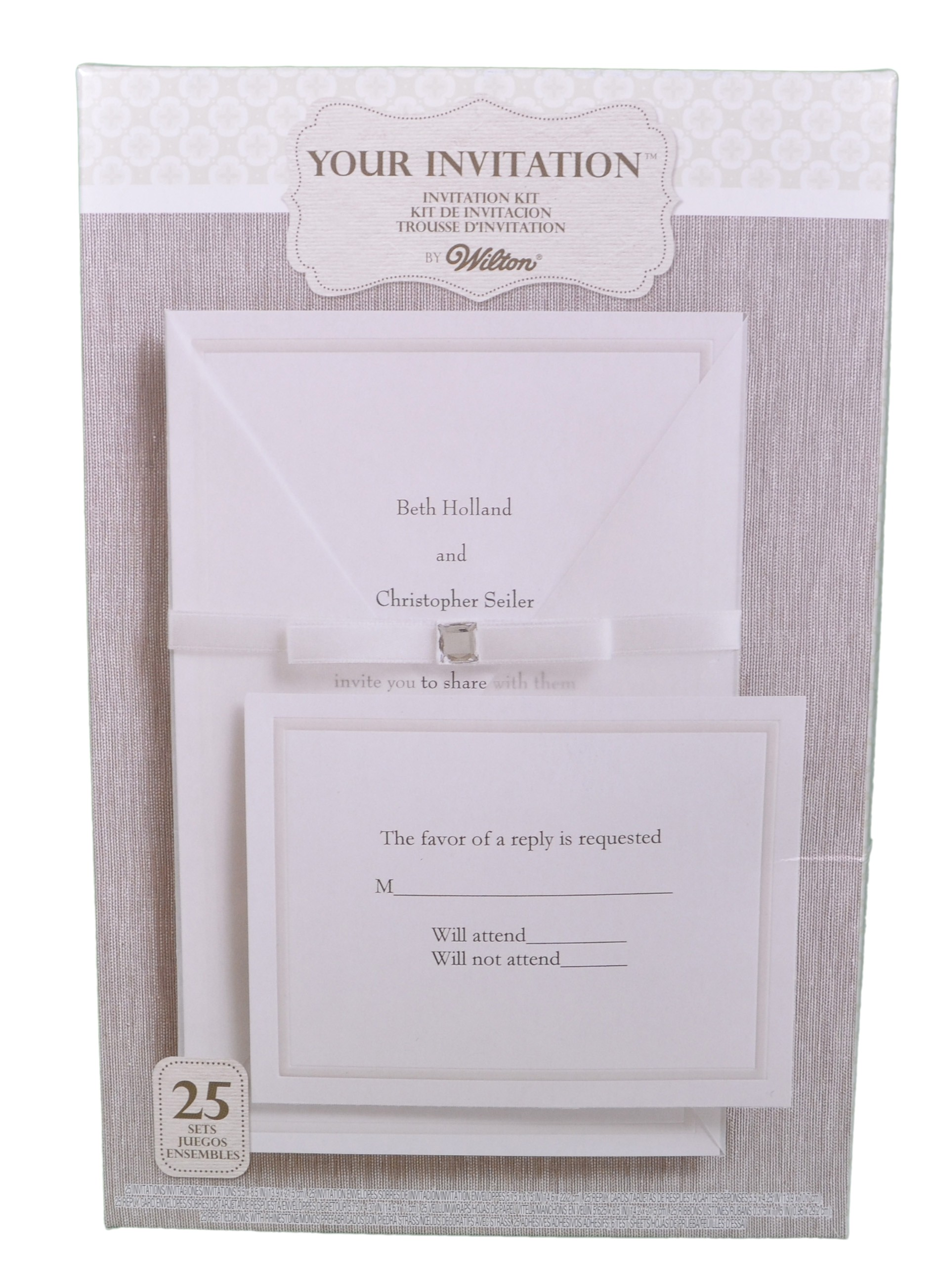 wilton invitation template