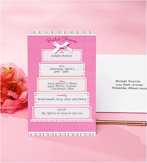 Wilton Bridal Shower Invitations Wilton 12 Ct Bridal Shower Cake Invitation Kit Jo Ann