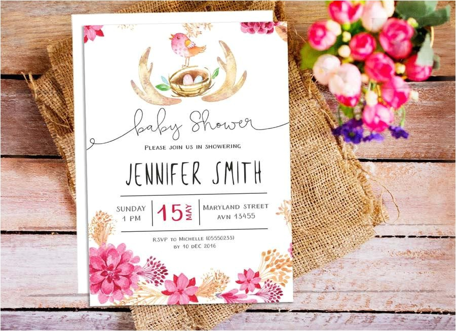 wilton online baby shower invitations