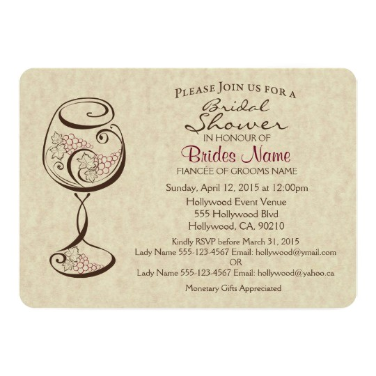 wine cheese bridal shower invitation CMPN=shareicon&lang=en&social=true