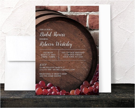 rustic wine barrel vineyard bridal