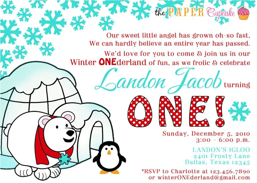 printable invitation design winter