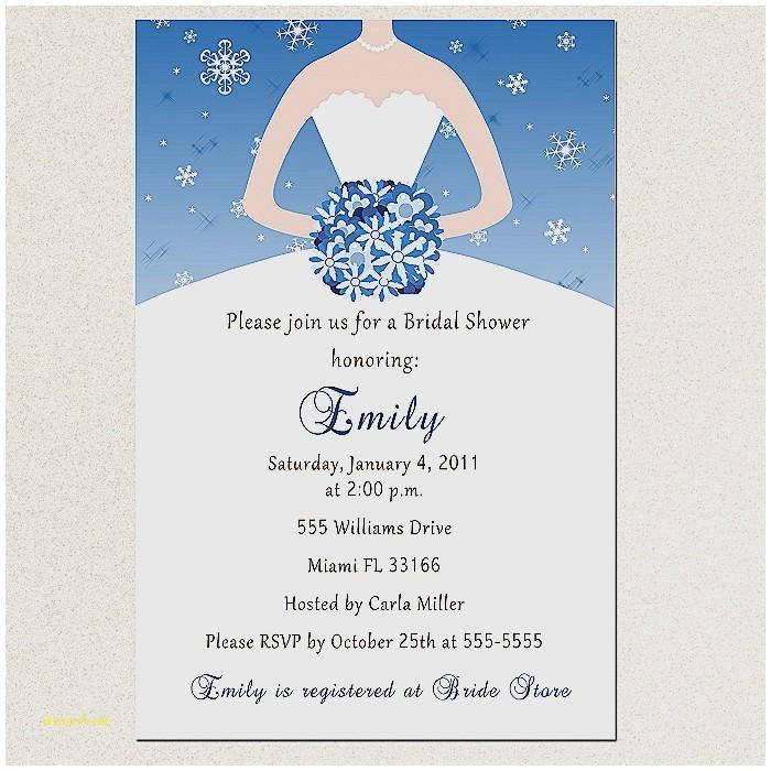 Winter Bridal Shower Invitation Wording Baby Shower Invitation Inspirational Winter Wonderland