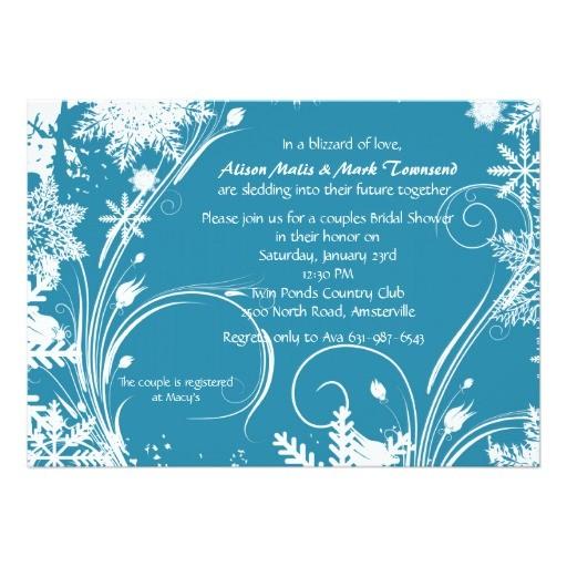 winter bridal shower invitation 161260001157960030