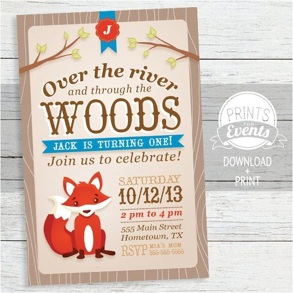 rivers woodland party
