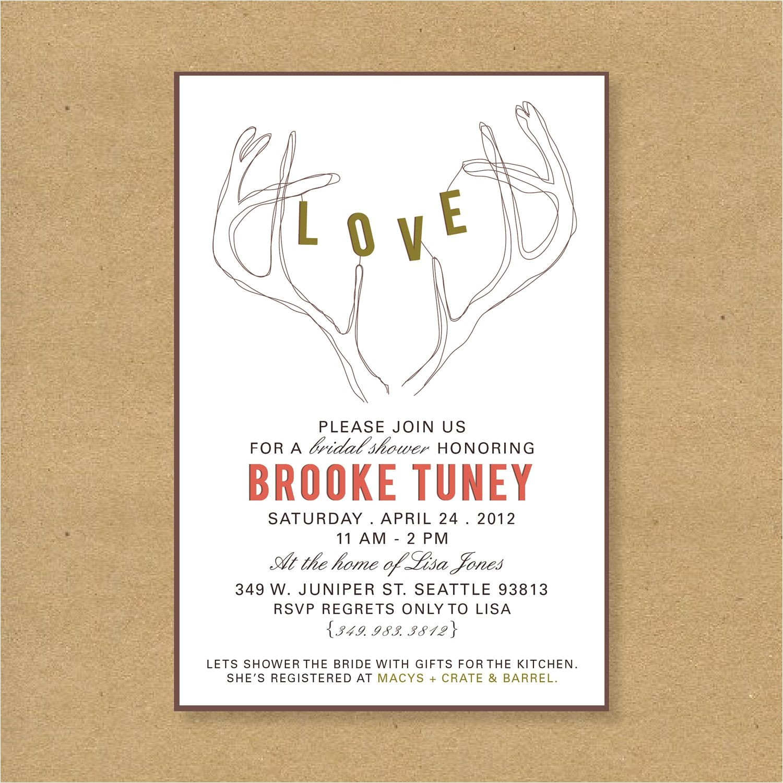 t card wedding shower wording