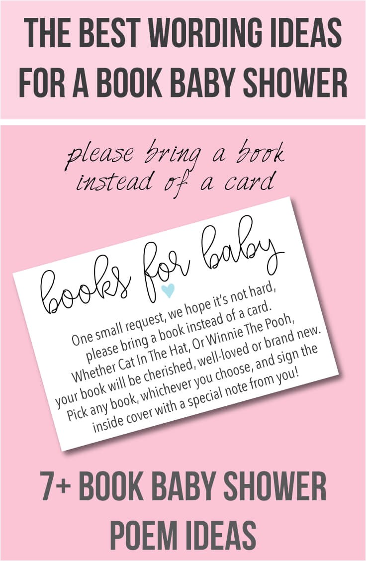 book baby shower invitations