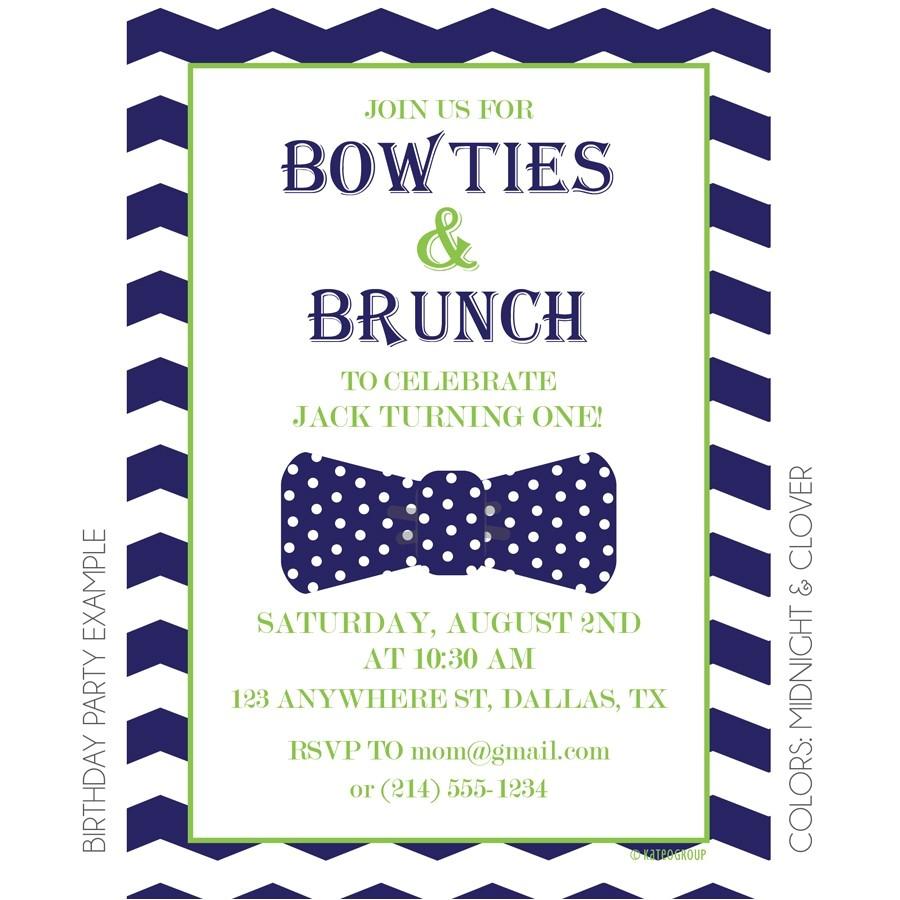 unique birthday brunch invitations