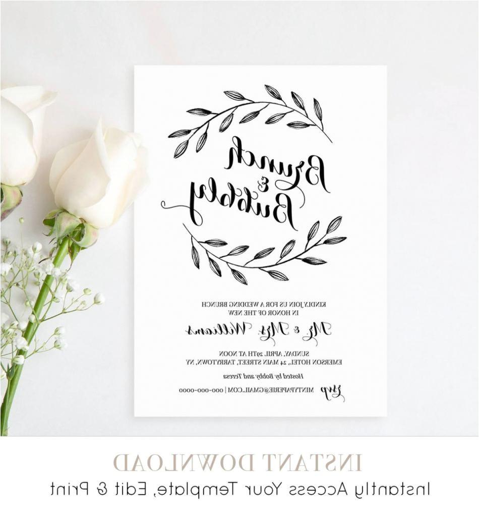 invitation wording brunch