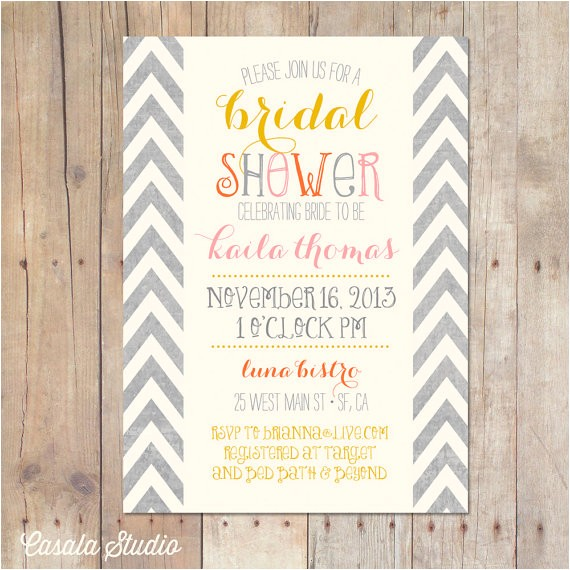 nice sample t card wedding shower invitation wording rectangular shape typography best designing template