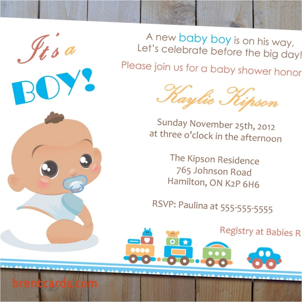 what to write in baby shower invitation