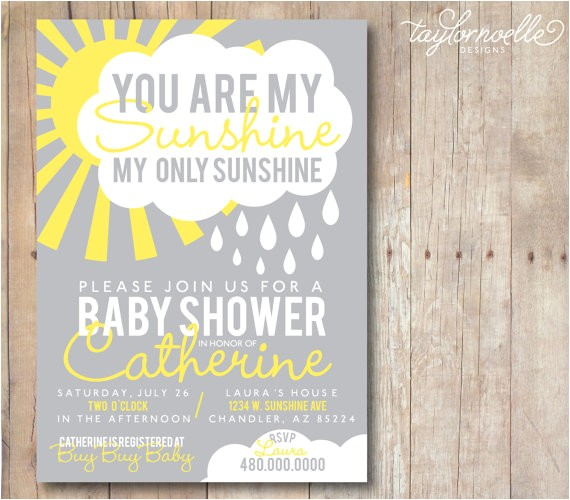 printable 5x7 you are my sunshine baby